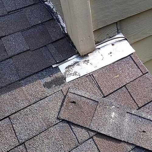 black streaking on roof